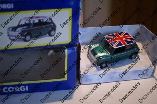 Corgi Mini 04413 British Racing Green Issued 2000 Leicester