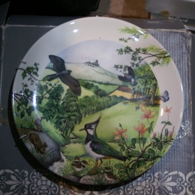 Wedgewood Rolling Hills and Grasslands 1988 Limited Plate ltd