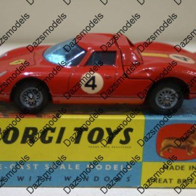 Corgi Toys Ferrari Berlinetta 250 Le Mans Red 314