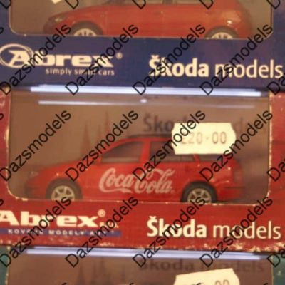Abrex Skoda Fabia Estate- Red - Coca Cola