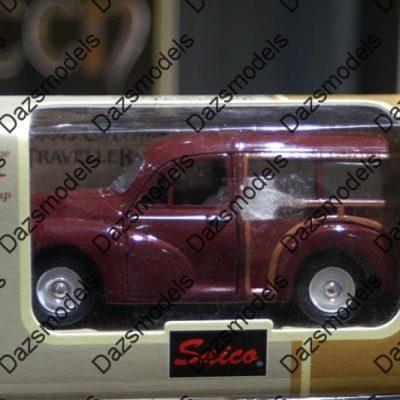 Saico Morris Minor Traveller Maroon 1:26
