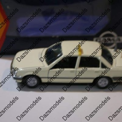 Gama Vauxhall / Opel Rekord 1126 Taxi White, Blue box in 1:43 sc