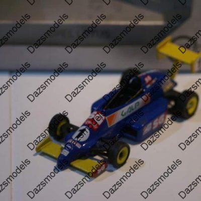 Gama Opel Lotus Blue Rennwagen in Silver Gama box 1164 in 1:43