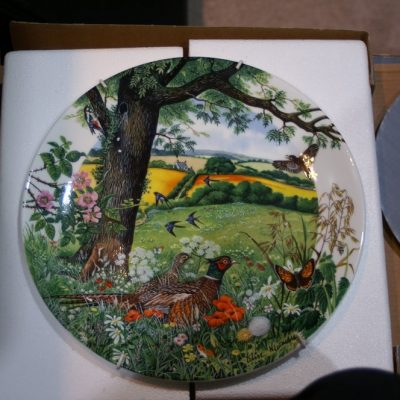 Wedgewood Meadows and Wheatfields 1987 Limited Plate ltd