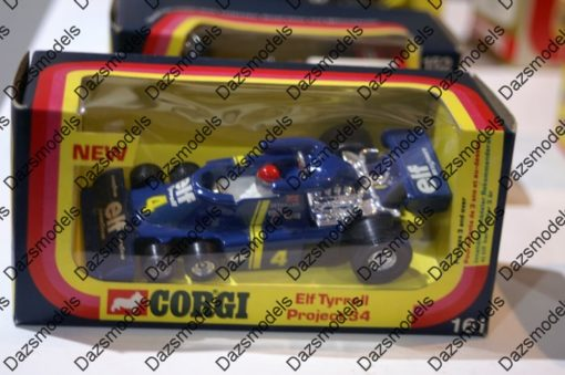 Corgi Formula 1 Elf Tyrrell 6 Wheeler Depailler 161 1:36