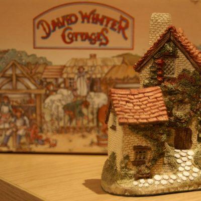 David Winter Cottages Ivy Cottage 1982