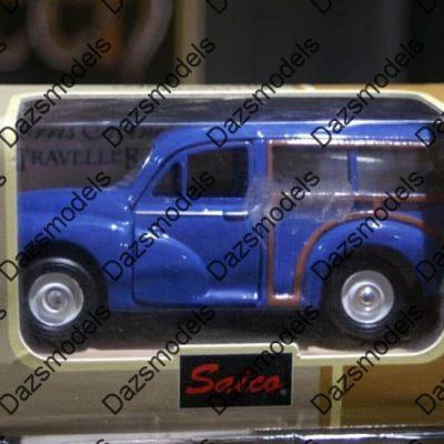 Saico Morris Minor Traveller Blue 1:26