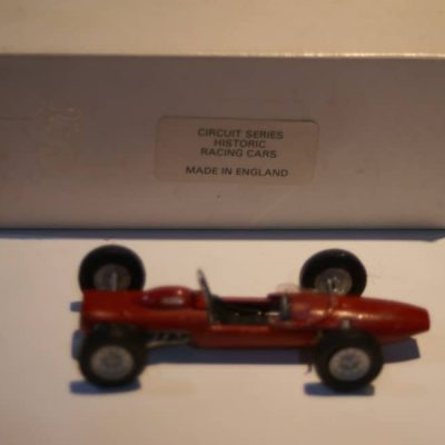 CS12 1963 Formula Ref 031 Hand Built 1:43 White Metal