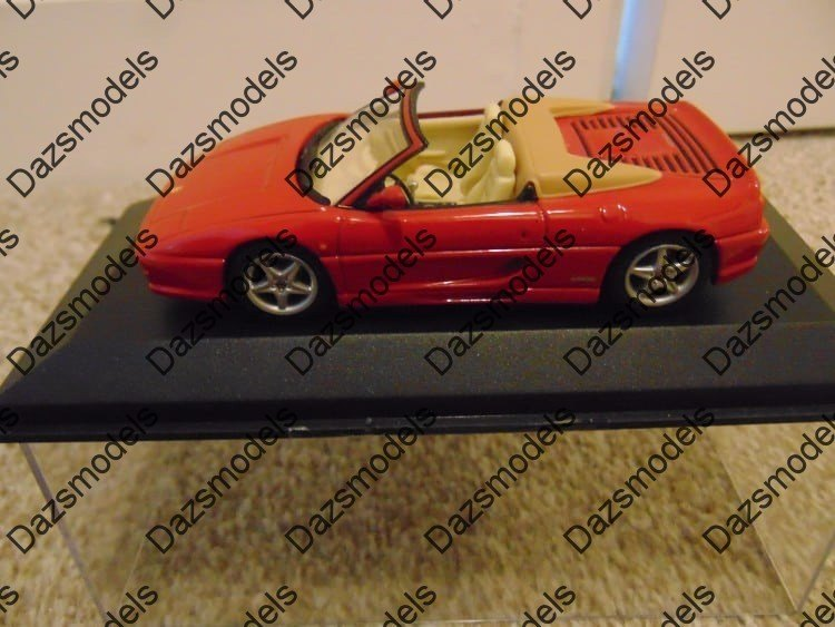Minichamps Ferrari 355 Cabriolet Red 430074032 1:43 - Missing Sleeve ...