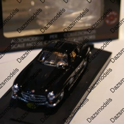 Bang-Mercedes-300-SL-Gull-wing-1955-Black-7090-143-Scale-182306350820