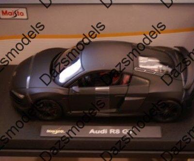 Maisto-Audi-R8-Gt-Matt-Black-118-scale-172517967861