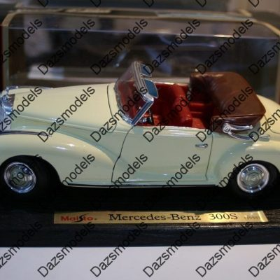 Maisto-Mercedes-Benz-300S-1955-White-31806-118-scale-172370063841
