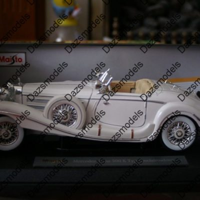 Maisto-Mercedes-Benz-500k-Roadster-36055-118-scale-182458551291