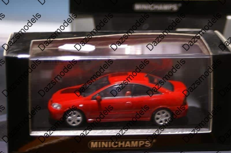 Minichamps Opel Vauxhall Astra Coupe 2000 Red 049125 Ebay