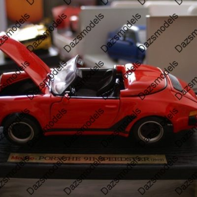 Maisto-Porsche-911-Speedster-1989-Red-31802-118-scale-182471306425