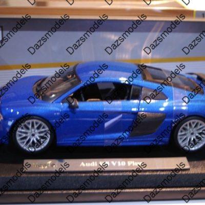 Maisto-Audi-R8-V10-Plus-Blue-118-scale-182488516787